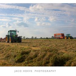 2 tractors.