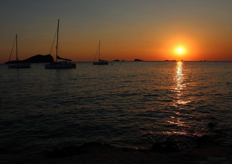 Sunset Cala Comte, Ibiza -