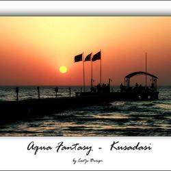 Aqua Fantasy Sunset