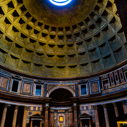 Insight the Pantheon, Rome