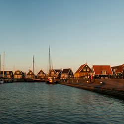 De haven van Marken