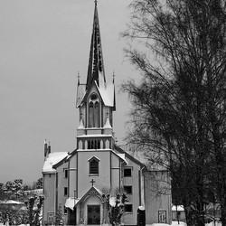 De kerk van Bamble
