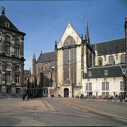 Nederland Amsterdam Nieuwe kerk