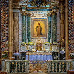 "Kerk ""Santa Maria dei Miracoli"" Rome"