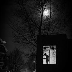 The book reader in te dark!