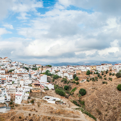 City on the hills, Alora Spain
