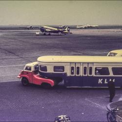 Schiphol jaren 50.