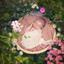 Newborn bloemenmeisje