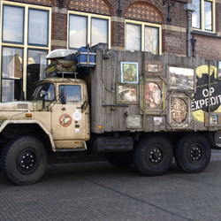 Gezellige Truck