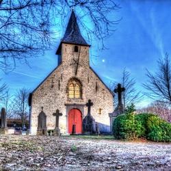 Sint-Gudula kerk Hamme Merchtem.