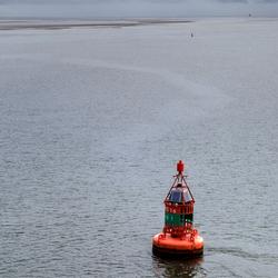 Boei in de Waddenzee
