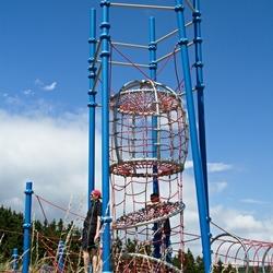Een klimtoren.