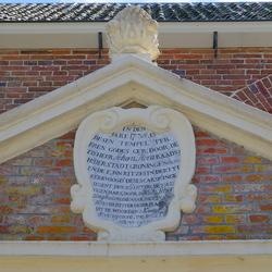 fragment entree kerk Midwolda