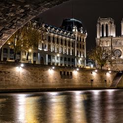 Seine met Notre Dame