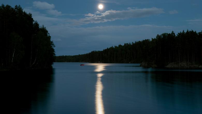 Afbeeldingsresultaat voor volle maan op het water
