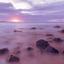 Zonsondergang Bushfoot Beach