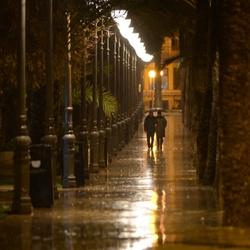Benidorm in de regen