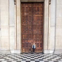 big door - Londen