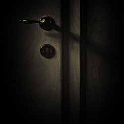 Mysterious door.