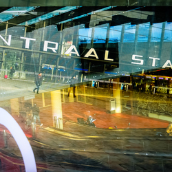 Centraal Station Reflected