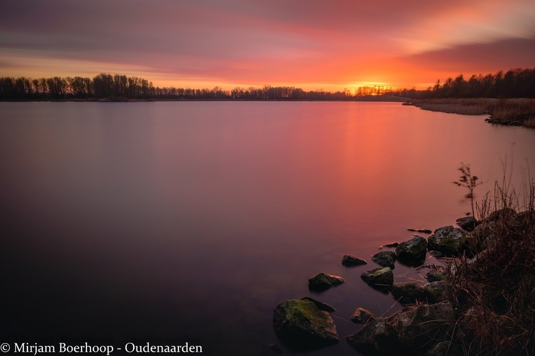 Long exposure sunset -