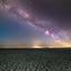Melkweg vanaf de Waddenzee