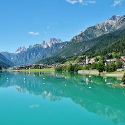 Lago Auronzo di Cadore Italie