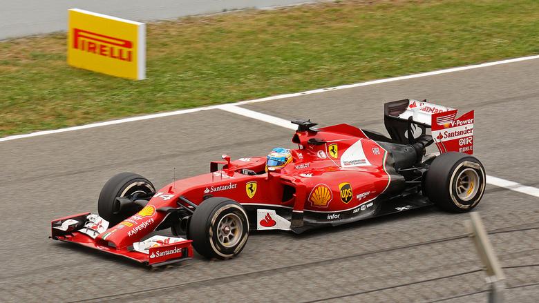 F1 - Barcelona 2014