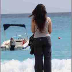 zomaar aan `t strand