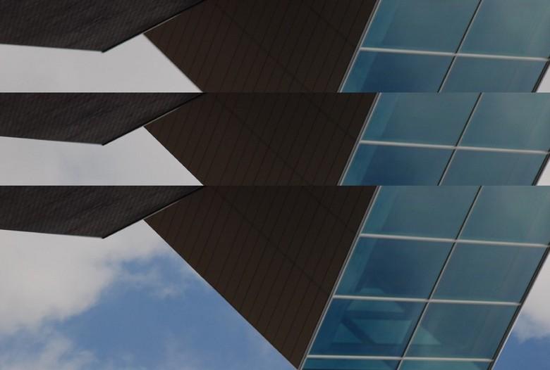 Herhaling - Een Architectuur foto bewerkt tot dit !