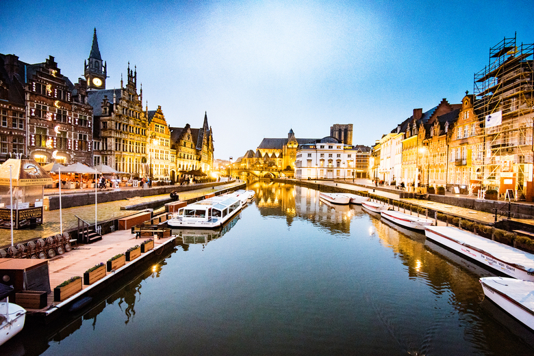 Avond in Gent