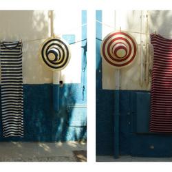 Rood en Blauw op Tabarca, Spanje