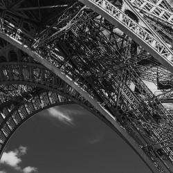 Detail Eiffeltoren
