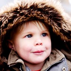 Winterse kinderfotografie Willemstad