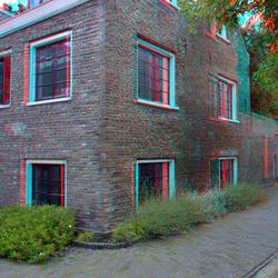 Goudsmidspleintje Haarlem 3D