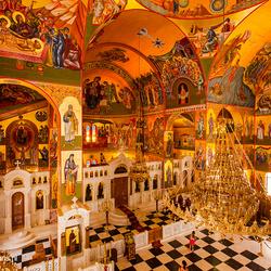 Kerk Moni Agiou Gerasimou Griekenland