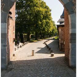 Inkom kasteel Alden Biezen
