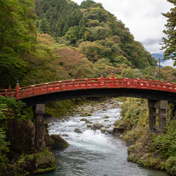 Shin Kyo brug (Nikko, Japan)