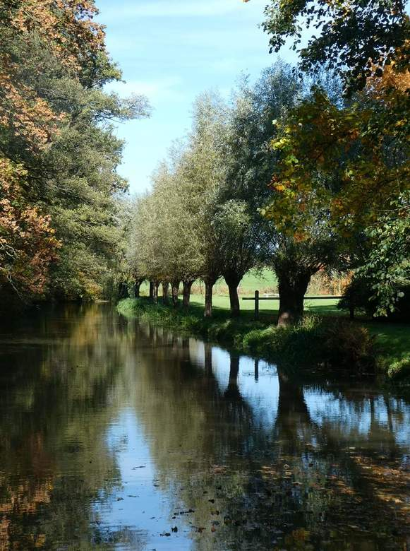 Haarmühle - Locatie de Haarmühle net over de grens bij Enschede