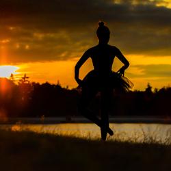 Ballet sunset