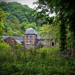 Verlaten landhuis in Luik