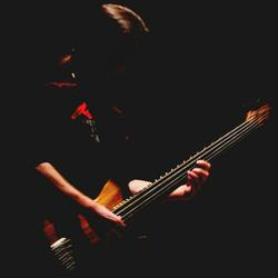 the bass player.
