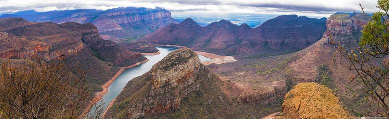 The Three Rondavels on Mpumalanga's Panorama Route  - De foto gemaakt tijdens groepsrondreis door een deel van Zuid Afrika ..The Three Rondavels on Mp