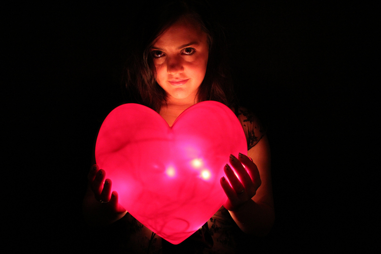 Glowing Heart - Latoya