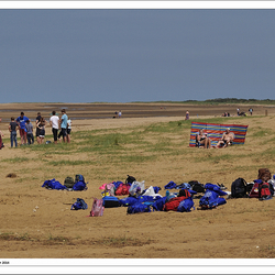 People on Hunstanton Beach - Norfolk 5#6