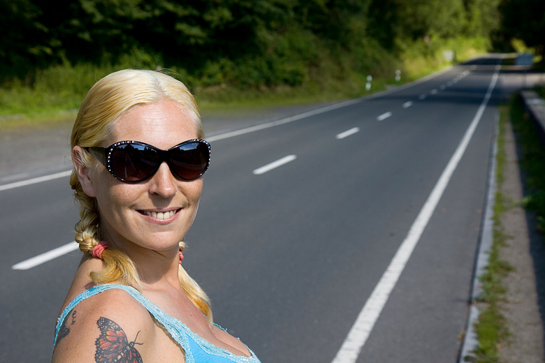 Luxemburg - Van 3t/m 5 juli 2009 zijn me vriendin en ik even een weekendje naar Luxemburg geweest.<br /> <br /> Hier een portret van me vriendin. Vo