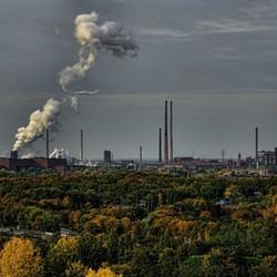 Duisburg in de Herfst