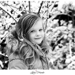Sneeuwportret van Noëlle
