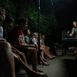 Tafeltenniswedstrijd