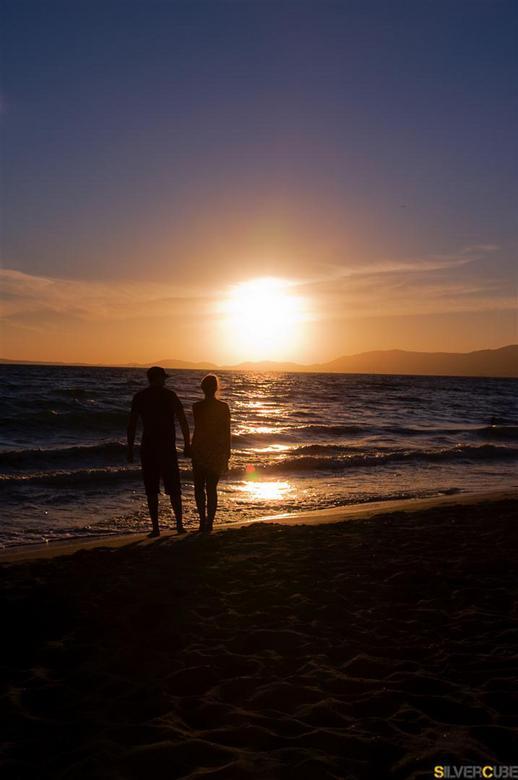 Sunset - Deze foto is gemaakt op onze vakantie in Mallorca